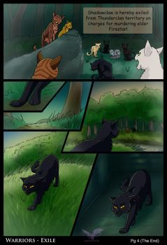 Warriors - Exile pg 4 End by JazzTheTiger