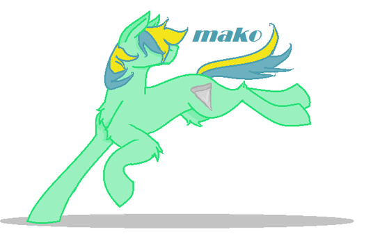Mako The Surfer Pony by Untamed407