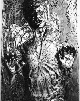 Han Solo in Carbonite by jimidson