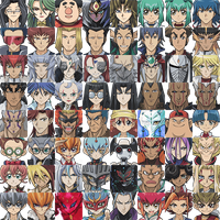 Yu-Gi-Oh! TAG FORCE SPECIAL SPRITES - CHARACTERS 2 by Spaminart