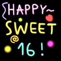 Sweet 16 by FluffyAndSweet