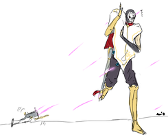 jhin the clumsioso by Mioponnu