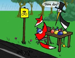 Slow Day in Hinterland by clearwater-art