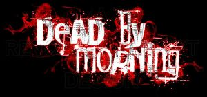 Dead By Morning logo by revolutionheart