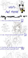Mememememememe art o3o by Jumpix