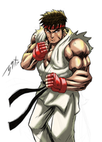 Street Fighter RYU by brianb3x