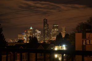A night in Seattle by cmickle