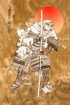 Yamamoto leaning on a spear by mr-macd