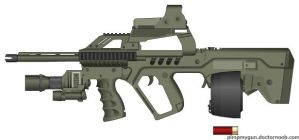 Tavor Auto Shotty by Psyk0-W01f