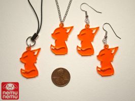 Fire Fox Charms by nemu-nemu