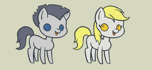 Equine Community Puppets (concept) by Kanduli