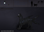 Character Sheet - Nevermore by Hedax