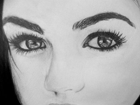 Lucy Hale eyes by shirates0932
