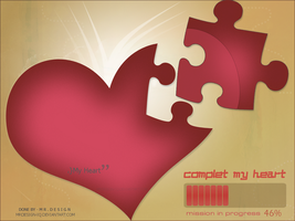 complet my heart by MRDESIGN-IQ