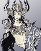 Shyvana - League of Legend by Leiwen