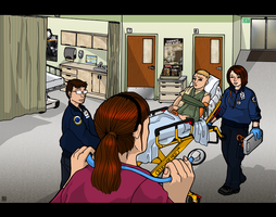 Hospital Scenes - Emergency Room by MauserGirl