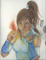 Korra version 2 by NicoleLekach