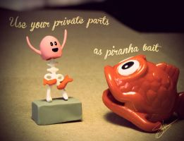 Dumb Ways Sundays no 4: Use your private parts... by Shlapocalypse