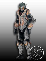 Destiny Grimm Hollow Hunter armor by Hellmaster6492