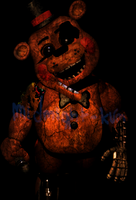 Whitered Toy Freddy by MidnightTearaway