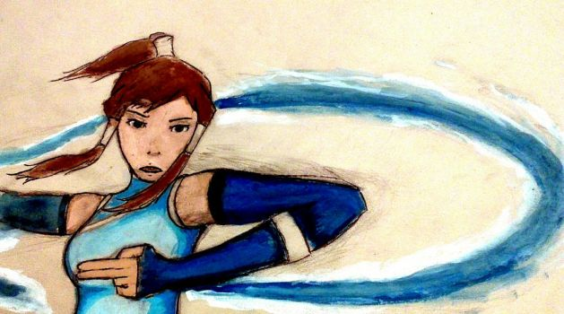 Korra by Bastasketch