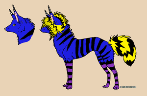 Wolf adoptable 10 POINTSS by scenie-adoptables
