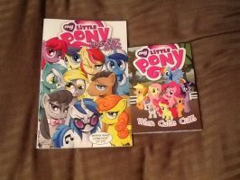 My Little Pony Comic Book Vol.3 +CMC Series Book by extraphotos