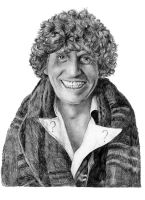 Dr Who- Tom Baker by Alene