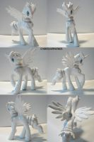 Reshiram Ponymon by ChibiSilverWings