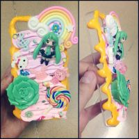 Bling case: Miku Vocaloid by mna1996