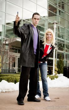 9th and Rose - Doctor Who - Katsucon 2014 - 3 by PA-X