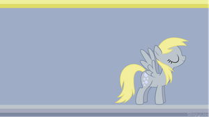 A Fabulous Derpy Wallpaper by stimpyrules