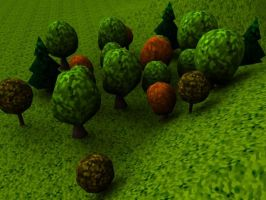 small forest 1 by Coalbiter