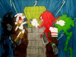 Battle For The Master Emerald by InkArtWriter