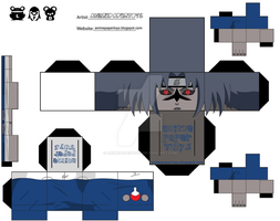 SASUKE SELLO MALDITO CUBEE by animepapertoys