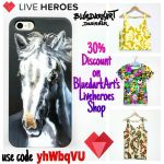 30% Discount on BluedarkArt's Liveheroes Shop by Bluedarkat