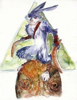 Bunnymund - Rise of the Guardians by MissPaperJoker