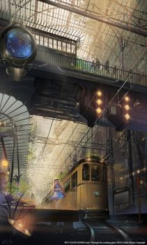 Queen's Library Station,PM 0100 by White-datuRA