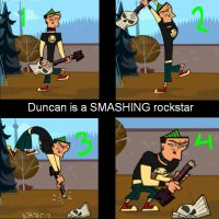 Duncan is a SMASHING rockstar by number1girandcodyfan