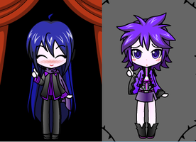 Vocaloid adopts :CLOSED: by lizzy-dark-rose
