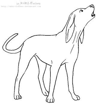 Coonhound explore coonhound on deviantart for Where the red fern grows coloring pages