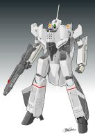 VF-0A Battroid by witchking08