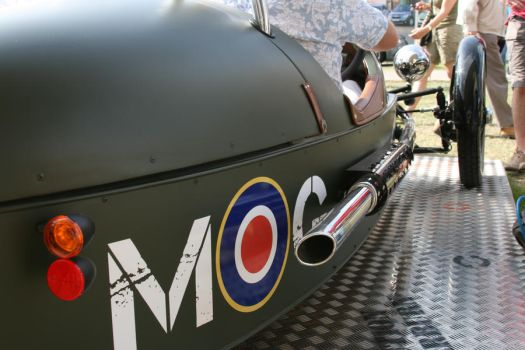 Goodwood Festival of Speed 2011 - Morgan MOG! by JimChuD