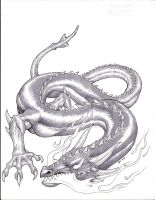 Wyrm, Fire by Level9Drow