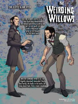 WEIRDING WILLOWS Dr Jekyll and Mr Hyde by DeevElliott