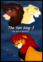Lion king 3 cover No one is perfect by Gemini30