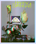 Rozes4TheGalleryOfEve (Anaglyph) by Hiscules