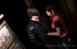 can't live without u! ( leon and Claire) by kingofshadows26