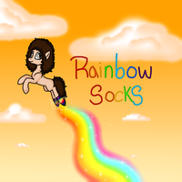 Rainbow Socks :3 by ShanyXAlba