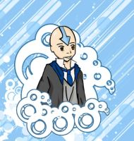 Ravenclaw Aang by Rai-Kage